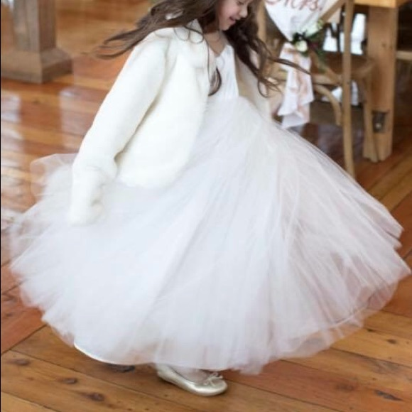 482f697ab8 Olivia Kate Couture flower girl dress. M 5ada01d0331627781acd8118